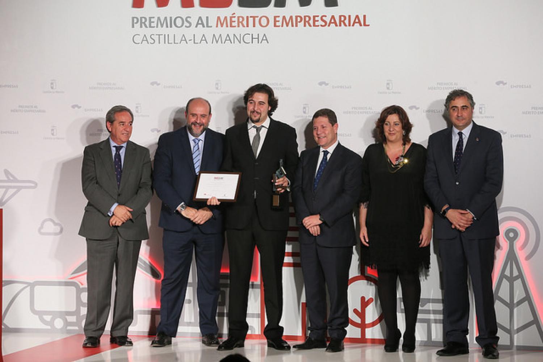 Entrega Premio al Mérito Empresarial de CLM 2016